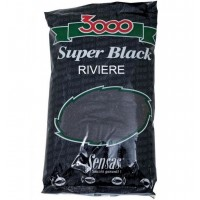 Groundbait Sensas 3000 Super Black Carp, 1kg