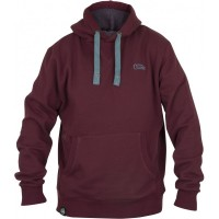 Hanorac Fox Chunk Ribbed Burgundy Hoody
