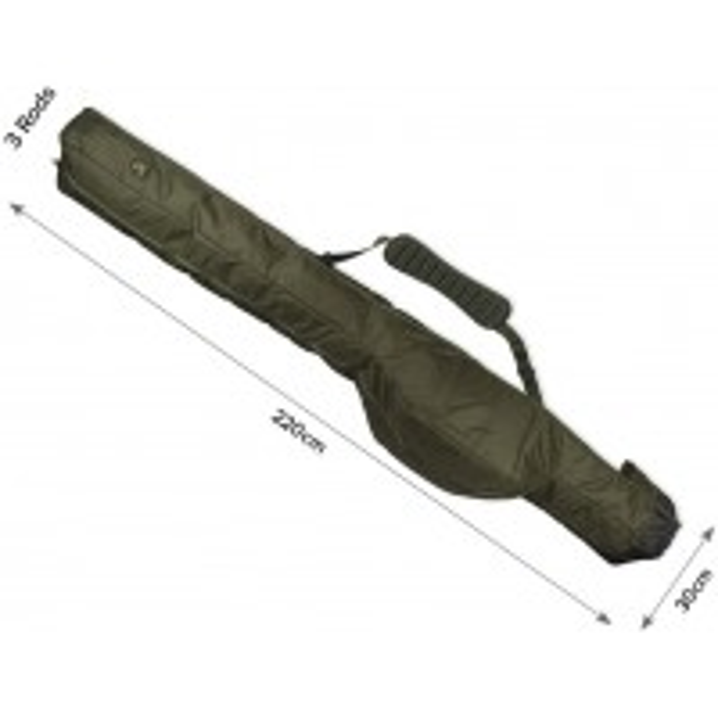 Husa Carp Spirit Magnum Multi-Sleeves 13', 3 Lansete + 3 Mulinete, 220x35cm