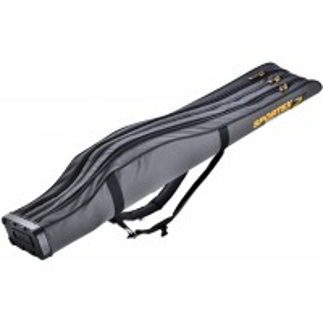 Husa Rigida Sportex Super Safe III Grey, 3 Lansete + 3 Mulinete, 175cm