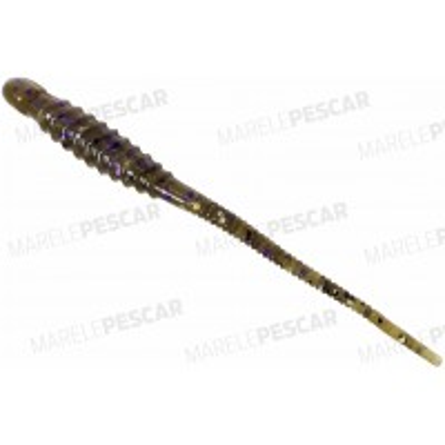 "Grub Big Hammer Salt Shaker Worm 4"", Magic Bug, 10cm, 10buc/plic"