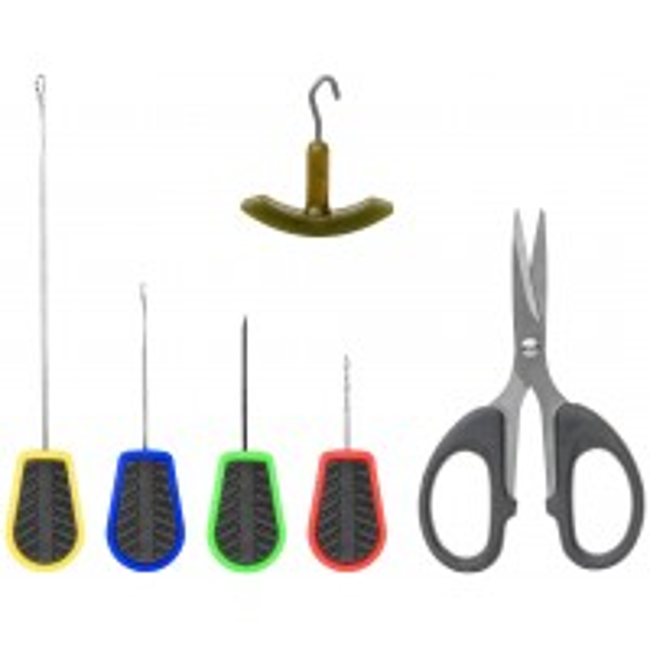 Kit Complet Monturi Carp Zoom Tempo Needle&Scissors, 6 piese/blister