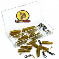 Kit Extra Carp Lead Clip & Swivel Ring