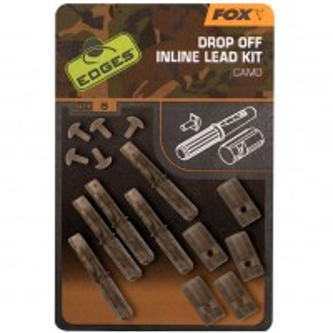 Kit Fox Camo Inline Lead Drop Off Kits, 5buc/set