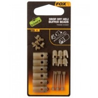 Kit Montura FOX Drop Off Heli Buffer Beads,4x6buc/plic