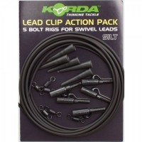 Kit Montura Plumb Pierdut Korda Lead Clip Action Pack