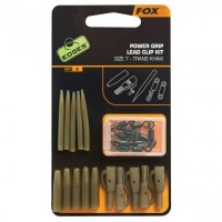 Kit Monturi Fox Edges Power Grip Lead Clip, 5x5buc/plic