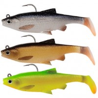 Kit Shad Savage Gear 3D Roach, 10cm, 18g, 3buc/plic