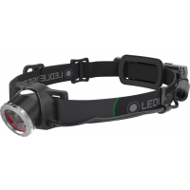 Lanterna Cap Led Lenser MH10 + USB + Husa + 2 Filtre, 600 Lumeni