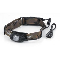 Lanterna de Cap FOX Halo® AL350C Headtorch + Acumulator, 350 Lumeni