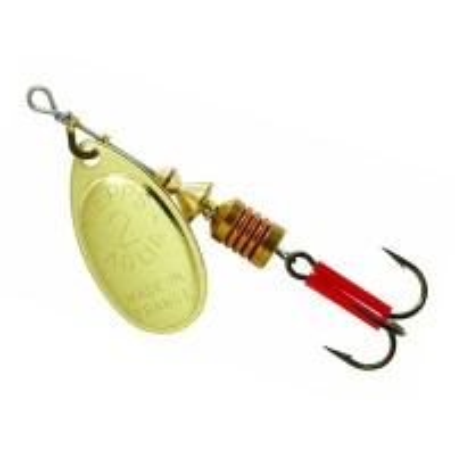 Lingurita Rotativa Mepps Aglia Gold nr.3, 6.5g