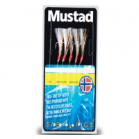 Taparine Mustad Rainbow Flasher, 5buc/plic
