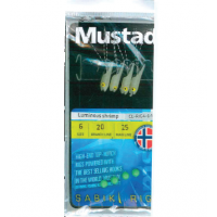 Taparine Mustad Luminous Shrimp, 4buc/plic