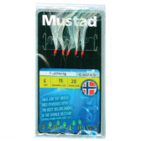 Taparine Mustad Feather, 5buc/plic