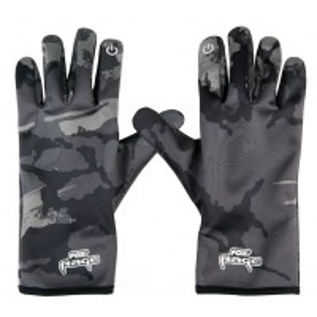 Manusi FOX Rage Thermal Camo Gloves