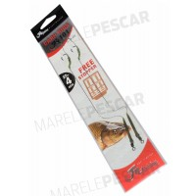 Montura Filfishing Carp Rigs Fil 101 + Free Stoper, 2buc/blister