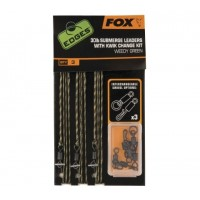 Montura Fox Submerge® Leaders Kwik Change Kit, 3 buc/set