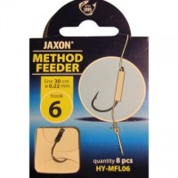 Montura Jaxon Method Feeder FL, 0.22mm, 30cm, 8buc/plic