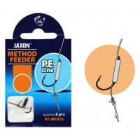 Montura Jaxon Method Feeder PE FN, 0.12mm, 10cm, 8buc/plic