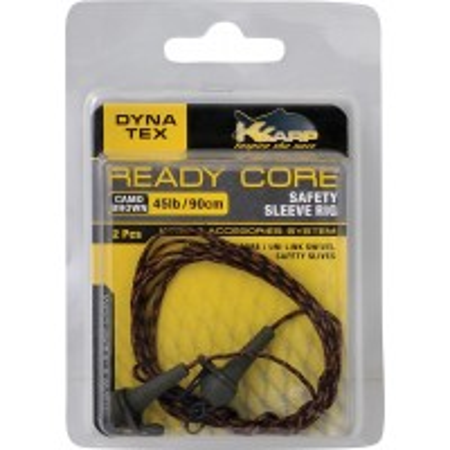 Montura K-Karp Dyna Tex Ready-Core Sleeve Rig 90 cm 45lbs