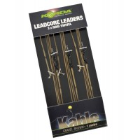 Montura Leadcore cu Anou Korda Kable Leaders with Ring Swivel, 3bucplic