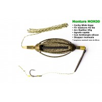 Montura Crap MP cu Momitor Plat 65g, Fir Leadcore 45lbs, Carlig Wide Gape