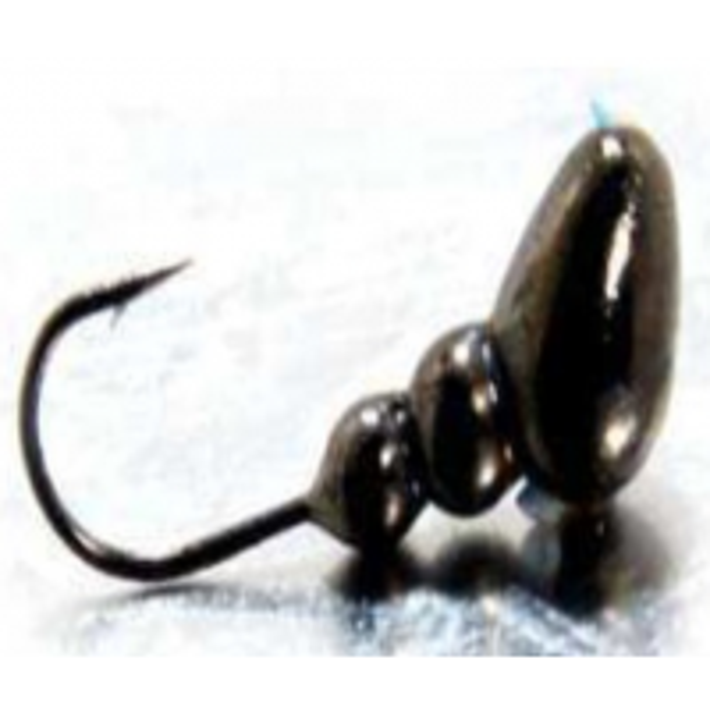 Mormaste Trakko Mormishka Tungsten Electroplating Emmet Eye, OO4, Nr.16, 0.29g, 2buc/plic