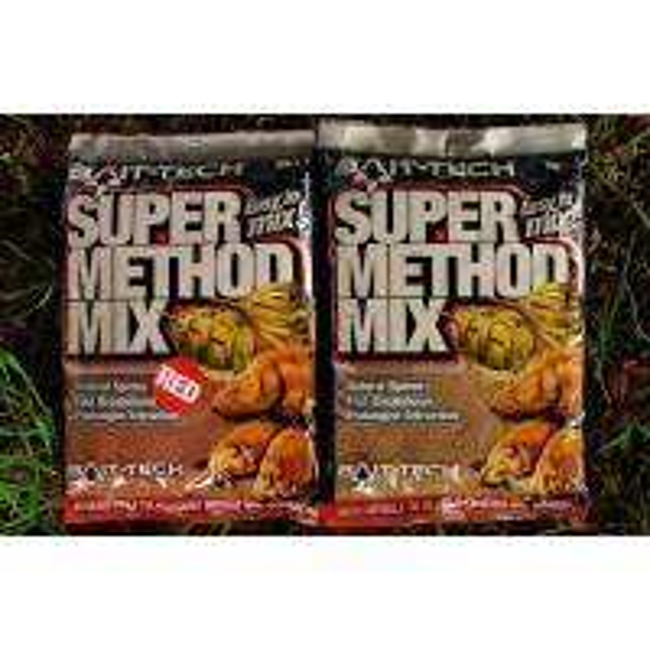 Nada Bait-Tech Super Method Mix Red 2kg