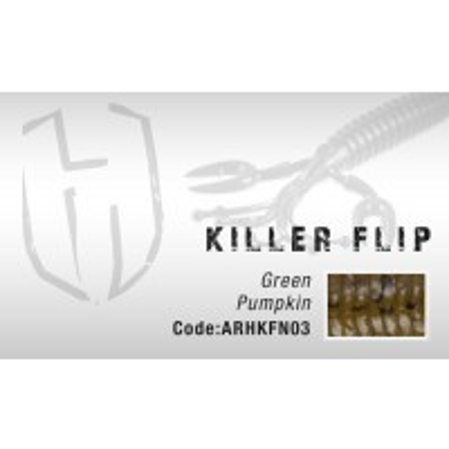 Naluca Colmic Herakles Killer Flip 10cm Green Pumpkin 7buc/plic