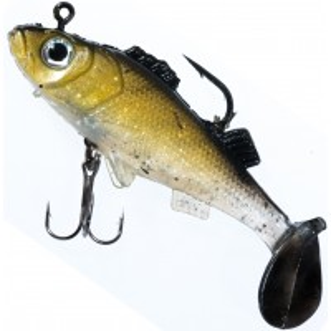 Naluca Jaxon Magic Fish Perch, Culoare C, 8cm, 19g, 5buc/plic