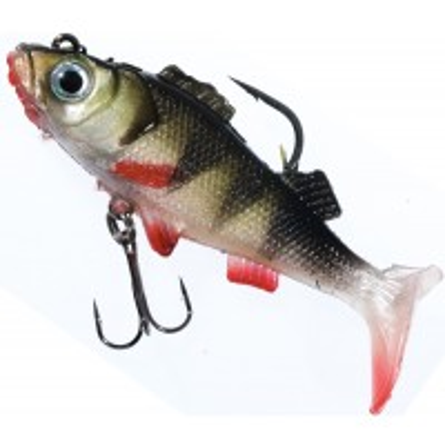 Naluca Jaxon Magic Fish Perch, Culoare H, 8cm, 19g, 5buc/plic