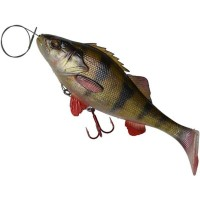 Naluca Savage Gear Perch Shad, SS01, 12.5cm, 23g