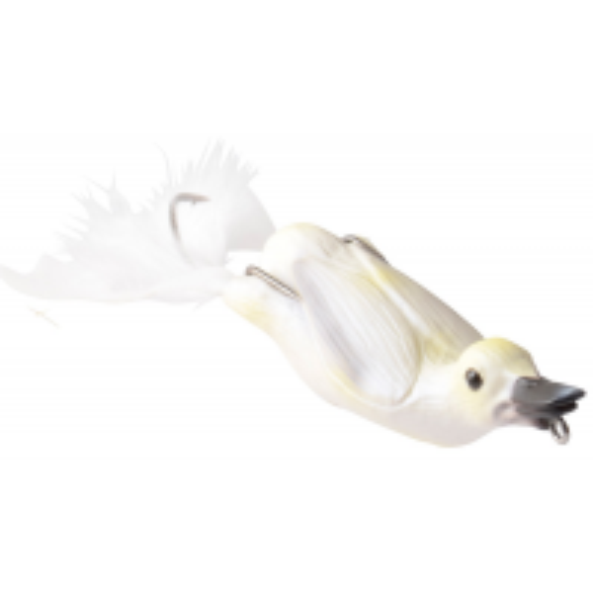 Naluca Topwater Savage Gear 3D Hollow Duckling, White, 10cm, 40g