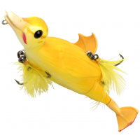 Naluca Topwater Savage Gear 3D Suicide Duck, Yellow, 15cm, 70g