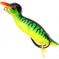 Naluca Topwater Westin Danny the Duck Hollowbody, Floating, Culoare Firetiger, 9cm, 18g