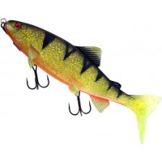 Swimbait Fox Rage Realistic Replicant Trout Shallow, UV Perch, 23cm, 130g