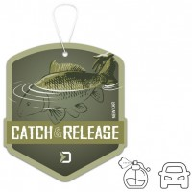 Odorizant pentru Masina Delphin CATCH and RELEASE, New Car, 8x9cm