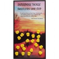 Opritoare Enterprise Tackle Sweetcorn Hair Stops, 20buc/plic