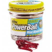 Naluca Berkley PowerBait Maxi Blood Worm