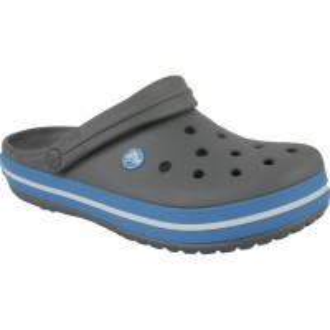 Papuci Crocs Crocband CharcoalOcean