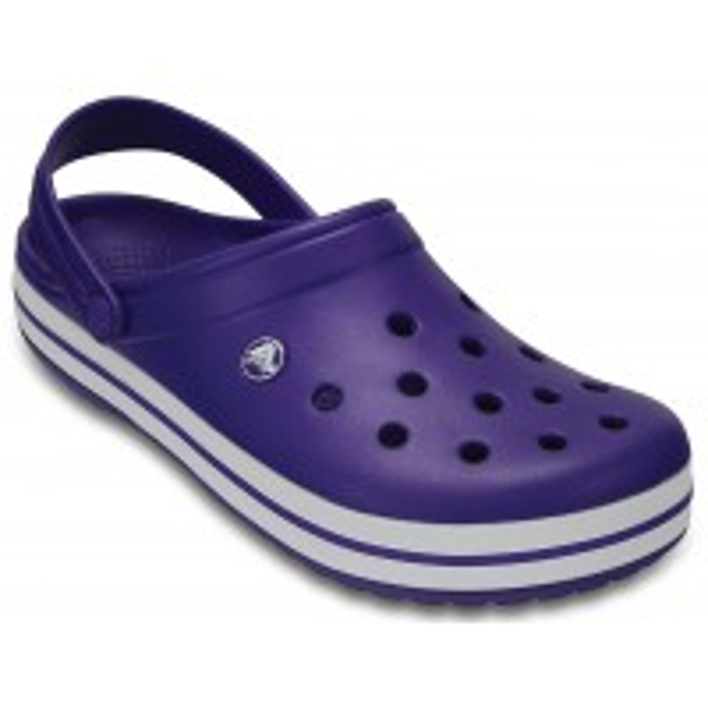 Papuci Crocs Crocband Ultraviolet/White
