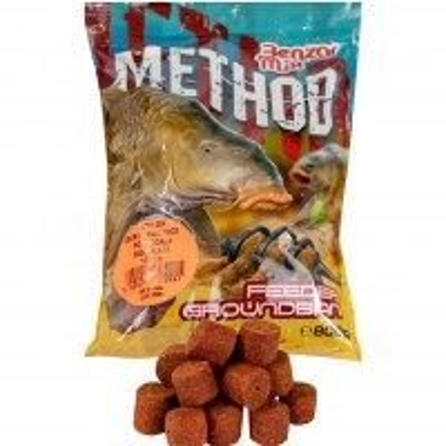 Pelete Benzar Mix Method Pellet, Ciocolata&Portocale, 800g/punga