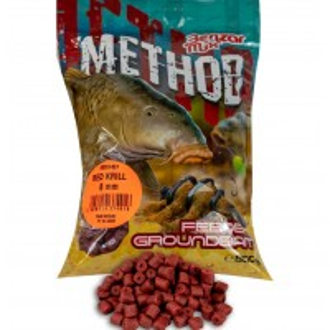 Pelete Benzar Mix Method Pellet, Red Krill, 800g/punga