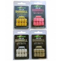 Pelete Flotante Korda Pop-Up Dumbell + Free Hair Stops, 8bucplic