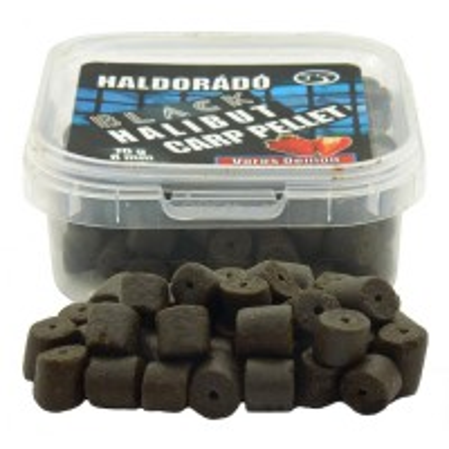 Pelete Haldorado Black Halibut Carp, 8mm, 70g