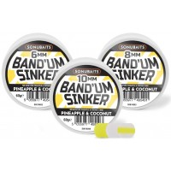 Pelete pentru Carlig Sonubaits Band'um Sinkers, 10mm, 60g