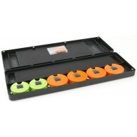 Penar Rigid pentru Riguri Fox Magnetic Disc & Rig Box Sistem, Large, 35x12x4cm