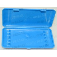 Penar Rigid Ringers Hooklength Box Blue, 14x7.5x2cm