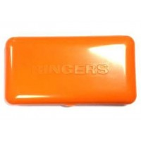 Penar Rigid Ringers Hooklength Box Orange, 14x7.5x2cm