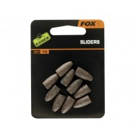 Plumb Secundar Conic FOX Edge® Sliders, 10buc/set